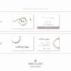 Branding package – Wellness Space – Rectangular business cards