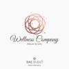 """Pacchetto di branding """"Wellness Company"""" Design con mandala"""