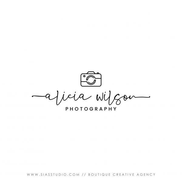 Alicia Wilson - Logo design di fotografia