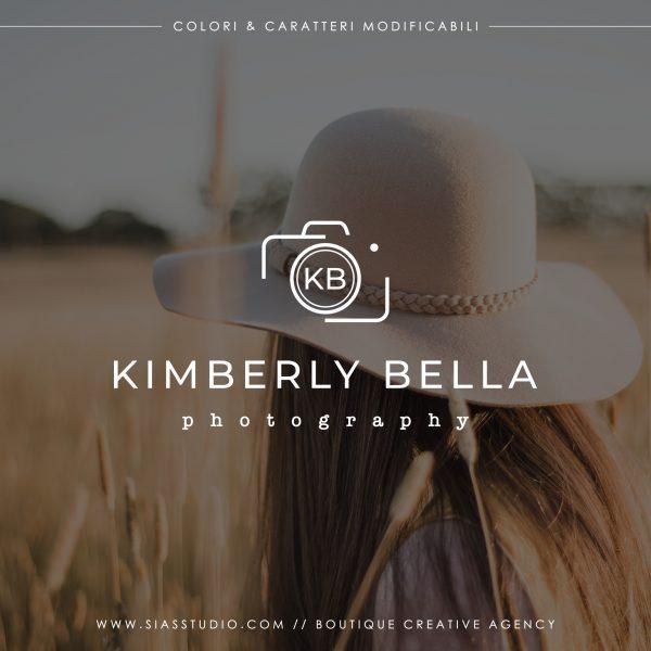 Kimberly Bella - Logo design di fotografia