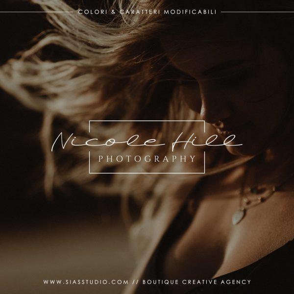Nicole Hill - Logo design di fotografia