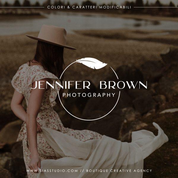 Jennifer Brown - Logo design di fotografia