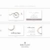 Pacchetto di branding – Wellness Space – Biglietti da visita rettangolari