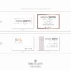 Pacchetto di branding precostruito Maria Smith – Biglietti da visita rettangolari
