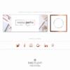 Pacchetto di branding precostruito Maria Smith – Copertina e Avatar