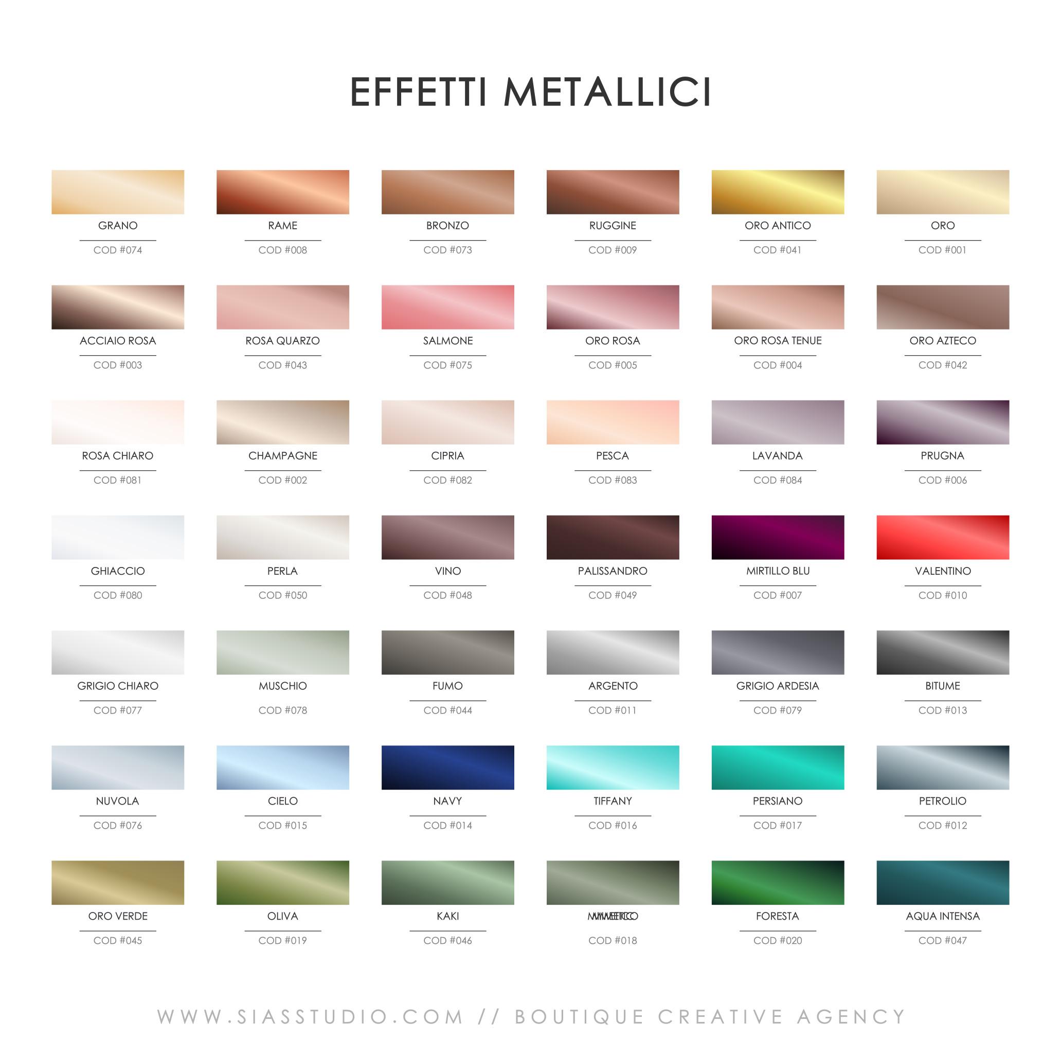 Sias Studio - Effetti Metallici
