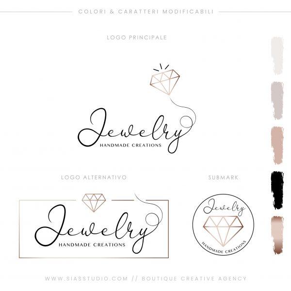 Jewelry - Pacchetto di branding