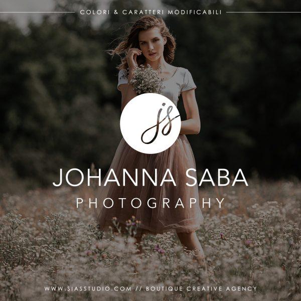 Johanna Saba - Logo design di fotografia