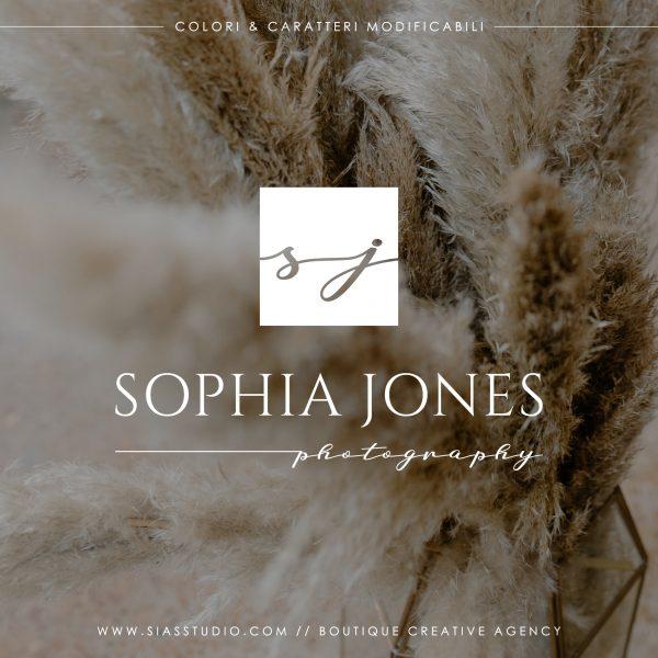 Sophia Jones - Logo design di fotografia