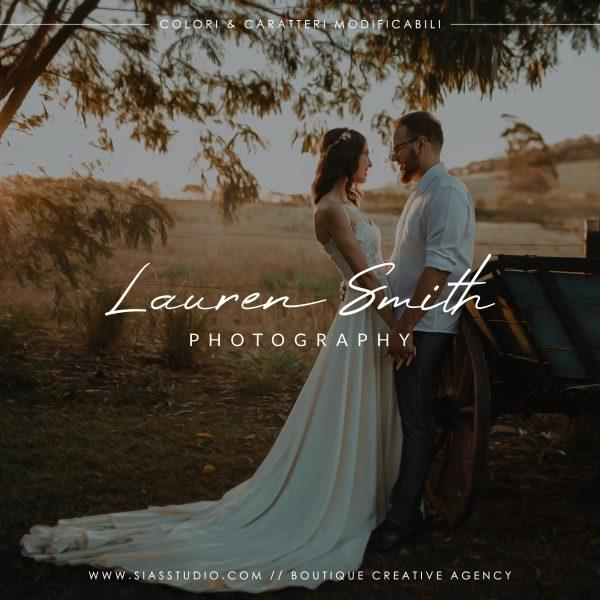 Lauren Smith - Logo design di fotografia