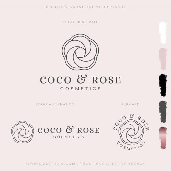 Sias Studio - Coco & Rose Pacchetto di branding