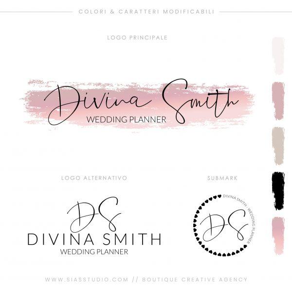 Sias Studio - Divina Smith Pacchetto di branding
