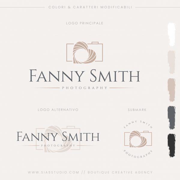 Sias Studio - Fanny Smith Pacchetto di branding