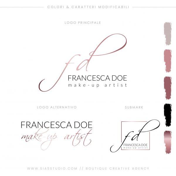 Sias Studio - Francesca Doe Pacchetto di branding