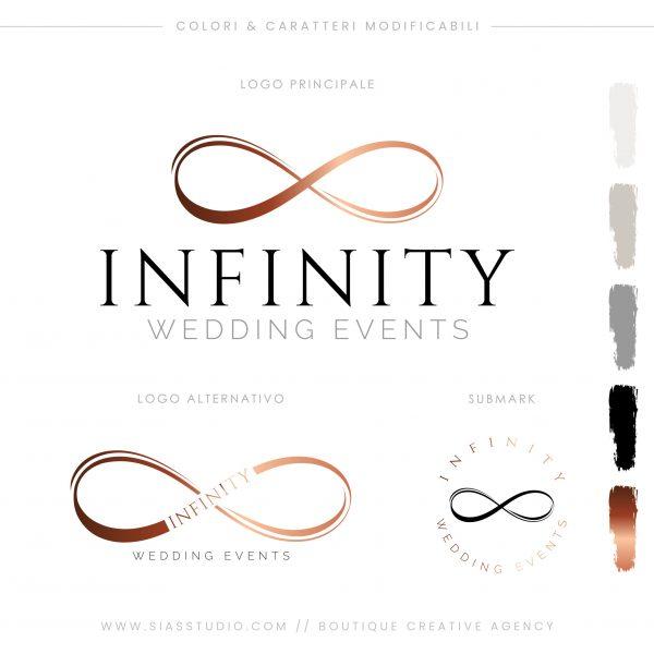 Sias Studio - Infinity Pacchetto di branding