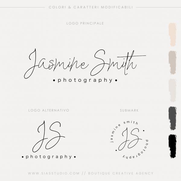 Sias Studio - Jasmine Smith Pacchetto di branding