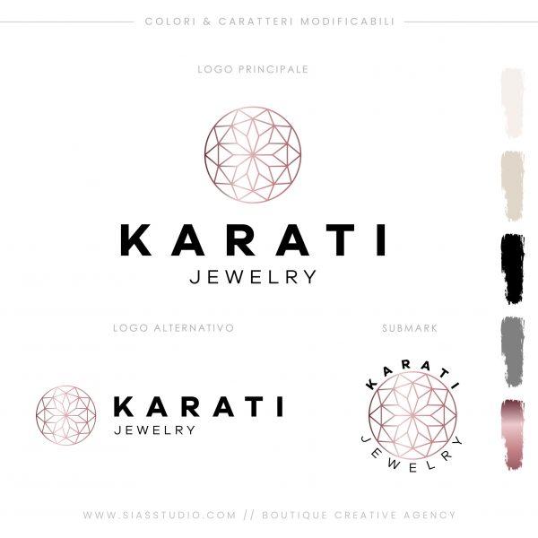 Sias Studio - Karati Pacchetto di branding