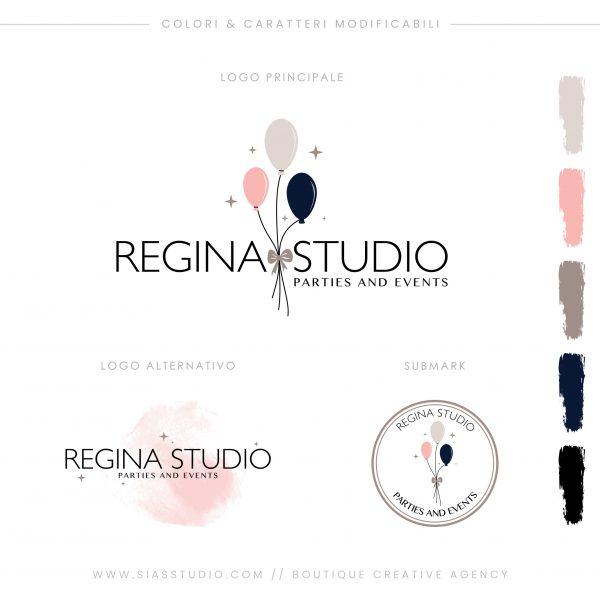 Sias Studio - Regina Studio Pacchetto di branding