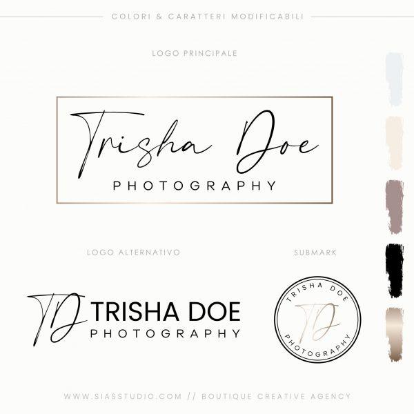 Sias Studio - Trisha Doe Pacchetto di branding