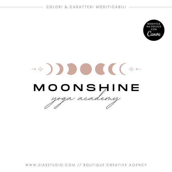 Moonshine - Modello di logo fai da te