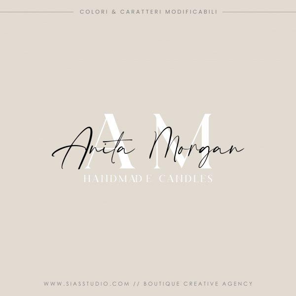 Anita Morgan - Logo design precostruito