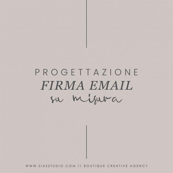 Progettazione Firma email Su misura
